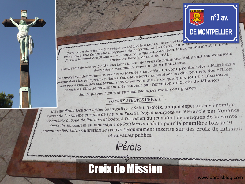 Croix de Mission à Pérols