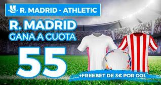 Paston Megacuota Real Madrid vs Athletic 14-1-2021