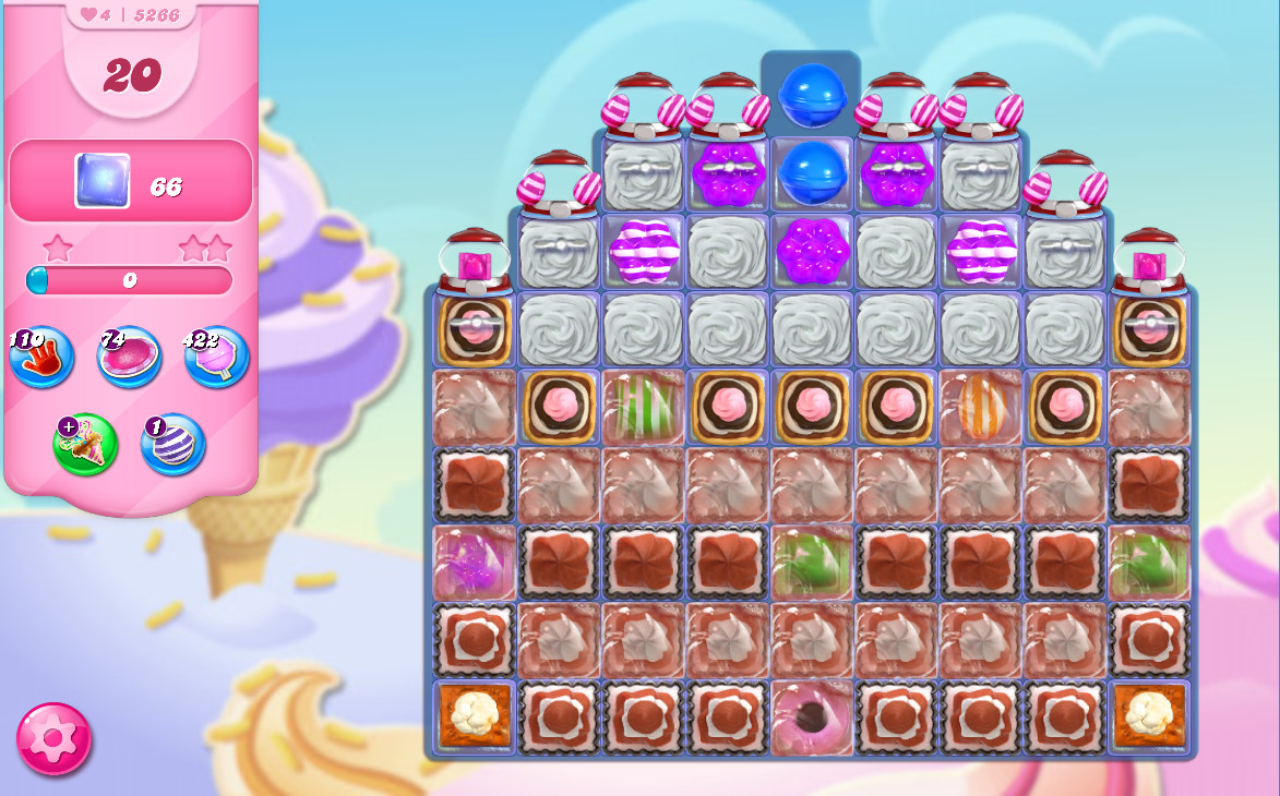 Candy Crush Saga level 5266