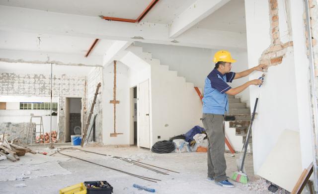 Sơn sửa lại căn hộ chung cư tại quận 8 chất lượng