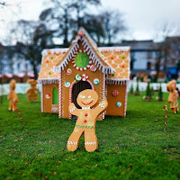 Images of Ireland: Gingerbread man on Eyre Square in Galway