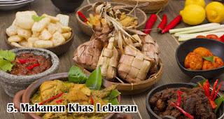 Makanan Khas Lebaran merupakan salah satu fakta unik dan menarik lebaran di Indonesia