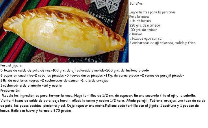 Practiquissimo Empanadas Salteas de Bolivia