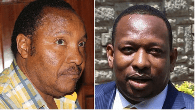 Former Kiambu Governor Ferdinand Waititu and his Nairobi counterpart Mike Sonko