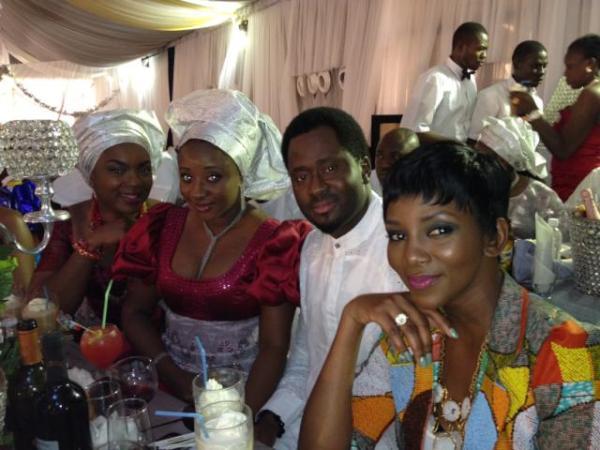 Obehi Okoawo's Blog: Funke Akindele's Wedding Pictures