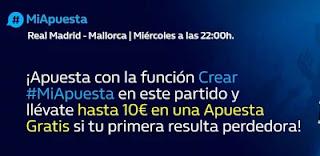 William Hill Reembolso Apuesta Gratis Real Madrid vs Mallorca 22-9-21