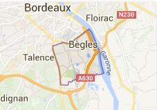 Bègles (33) : des lycéens se filment en train d'agresser un professeur handicapé dans France carte%2Bb%25C3%25A8gles