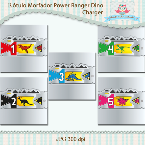 arte, avulsa, digital, morfador, power rangers, dino charge, baton, chocolate