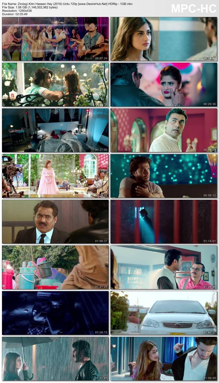 Zindagi Kitni Haseen Hay (2016) Urdu 720p HDRip – 1GB Desirehub