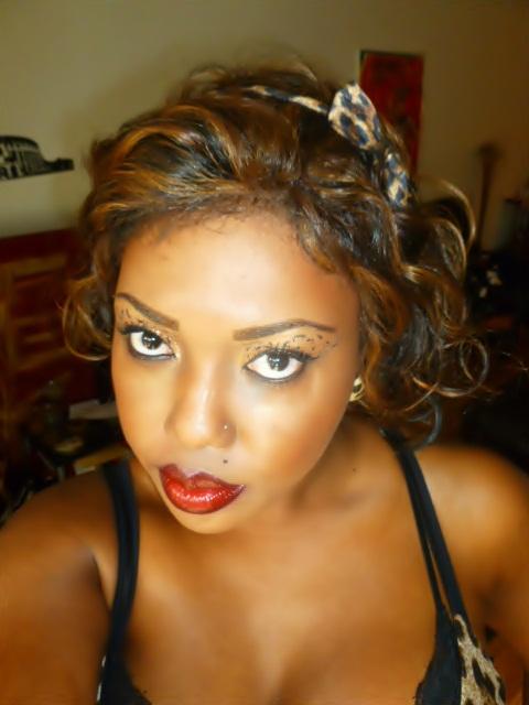 Necessary Beauty: Pin Up Cheetah Look