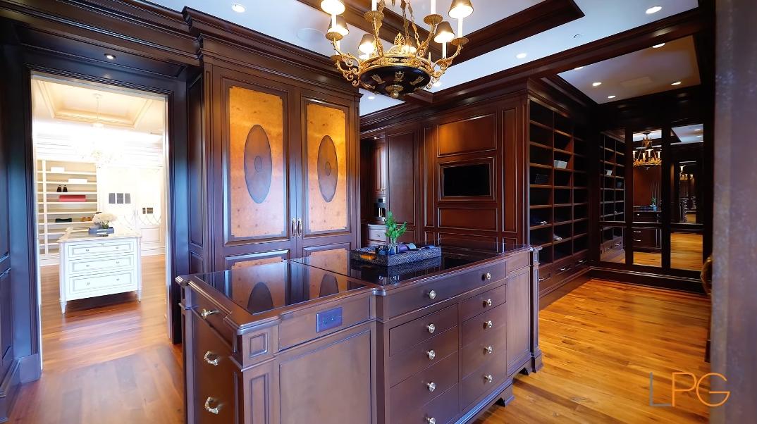65 Interior Photos vs. Tour 18 Frick Dr, Alpine, NJ Ultra Luxury Classic Mega Mansion