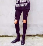 http://www.stylemoi.nu/ankle-grazer-skinny-jeans-with-ripped-knees.html