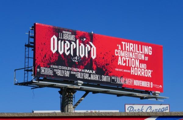 Overlord film billboard