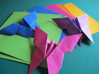 Decorazioni Battesimo Fai da Te: Farfalle di origami