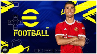 Download eFootball PES 2022 PPSSPP Cristiano Ronaldo To MU English Commentary & New Extreme Difficulty