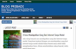 Blog Pribadi Memiliki Domain TLD