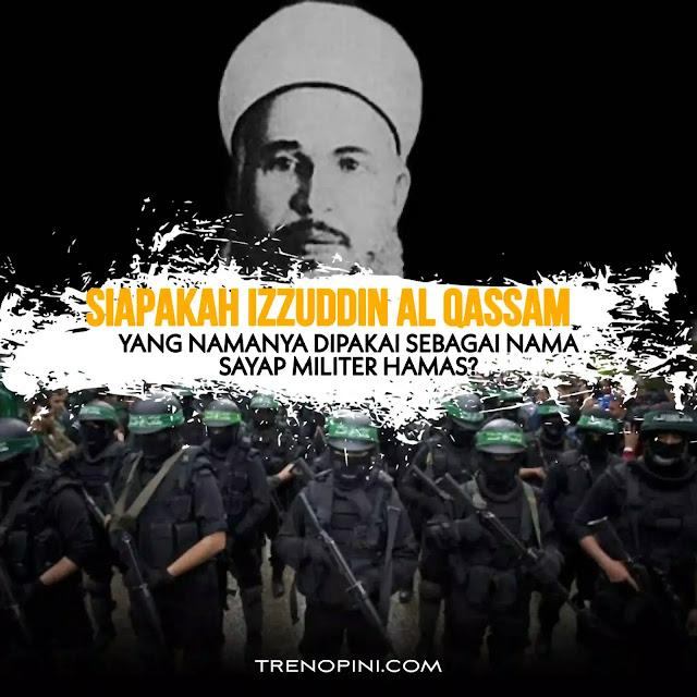 Bernama lengkap Muhammad Izzuddin Abdul Qadir Al-Qassam. Izzudin lahir di Jibillah, Suriah, pada 1882. Beliau sempat belajar di Universitas Al-Azhar, Mesir, dan mendapatkan bimbingan dari mujtahid terkemuka, Muhammad Abduh.