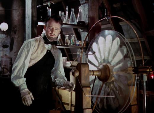 Still, Curse of Frankenstein, 1957