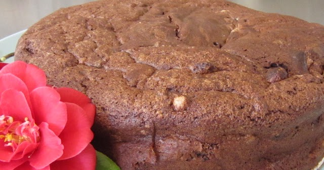 Cracked Earth Chocolate Cake