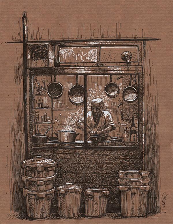 03-Restaurant-food-Christine-Deschamps-www-designstack-co