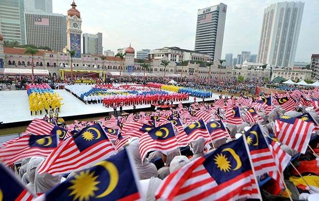 selamat sambutan hari kemerdekaan malaysia