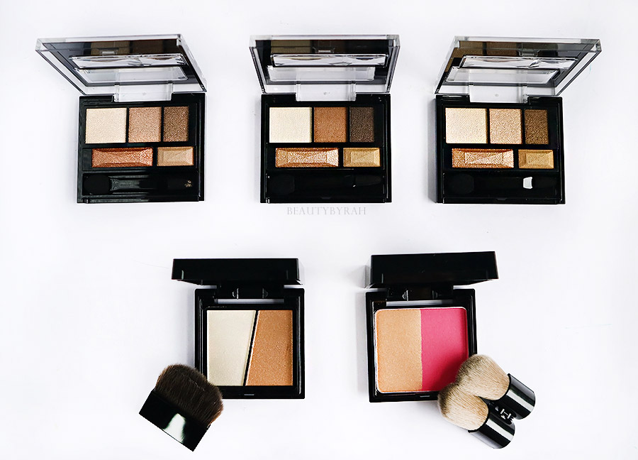 Kate Fall Winter Collection Eyeshadow 3D cheeks and slim create Review and Swatches
