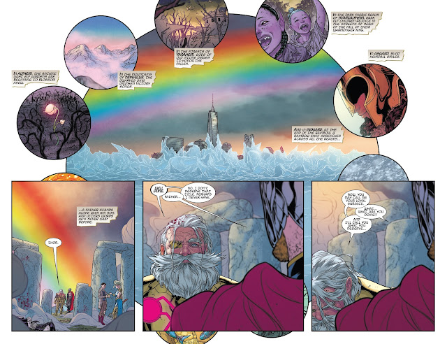 All the Nine Realms are at peace once again after the War of the Realms.