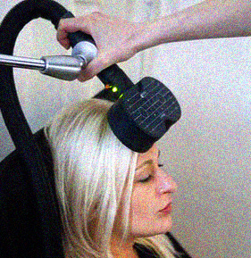 Magnetic therapy for treating depression.