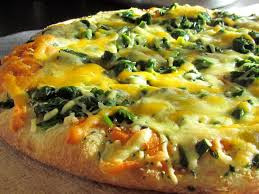 Healthy recipe - Spinach and Mushrooms Quiche