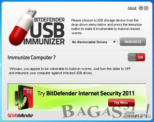 USB Immunizer BitDefender 2
