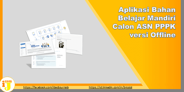 Aplikasi Bahan Belajar Mandiri Calon ASN PPPK versi Offline