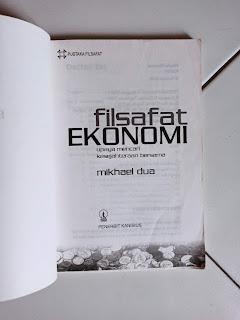 1 Filsafat Ekonomi Oleh Mikhael Dua