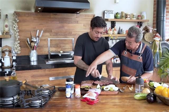'Churrasqueiro AJI-SAL® - A Missão' transforma humorista Renato Albani em mestre churrasqueiro
