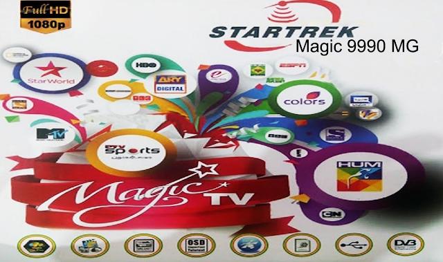 STAR TRECK MAGIC, 9990 MG 1506LV, SIM TYPE NEW SOFTWARE 2021