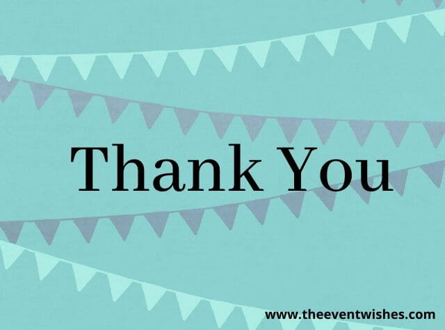thank you note for birthday wishes