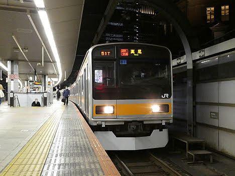 【ダイヤ改正前の代走!】209系1000番台の通勤快速 高尾行き