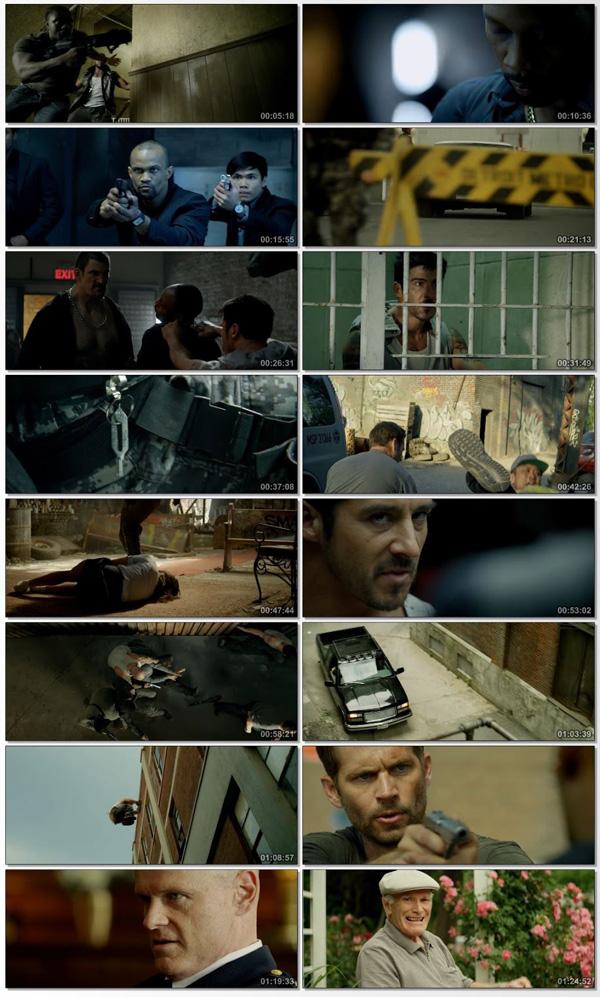 Download Brick Mansions 2014 Dual Audio ORG Hindi 750MB BluRay 720p ESubs movie