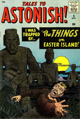 Tales to Astonish, the Things from Easter Island