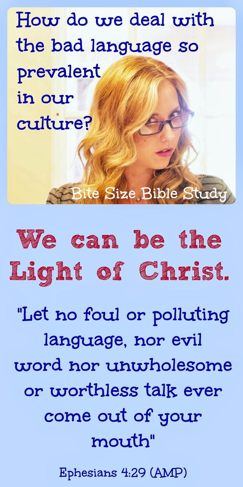 cussing, cursing, profanity, bad language, Bible, Philippians 2:14-15, Ephesians 5:29