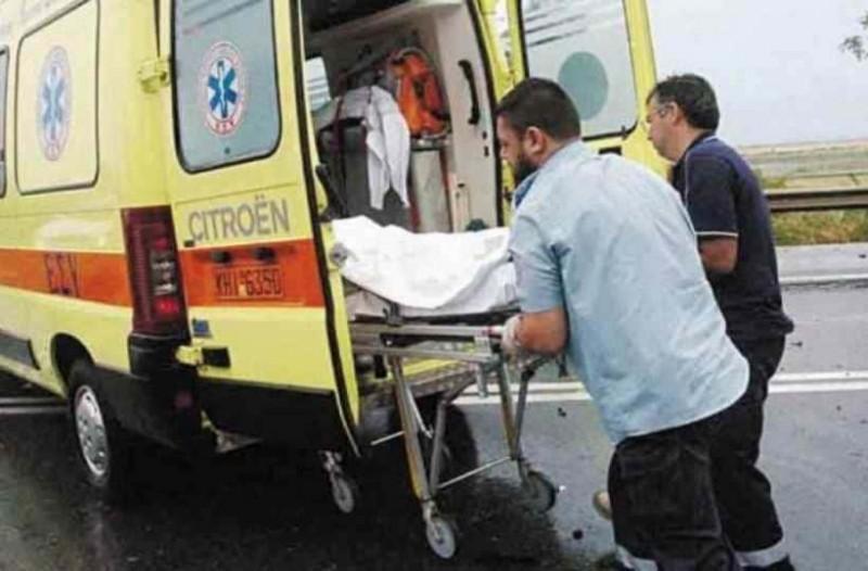 Τροχαίο ατύχημα στην Χαλκιδική στο νοσοκομείο Παπαγεωργίου ο οδηγός της μηχανής