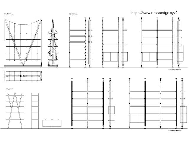 Metal Bookcase cad block free download - 15+ free cad blocks