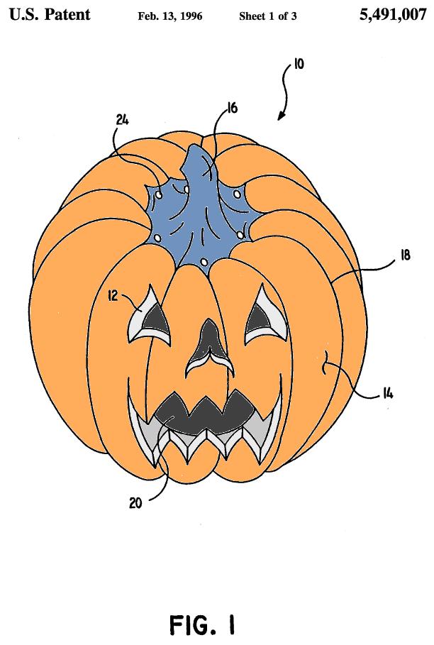 U.S. Patent 5,491,007 Figure 1
