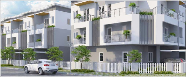 Cho thuê nhà phố Melosa Garden Quận 9 nội thất hiện đại