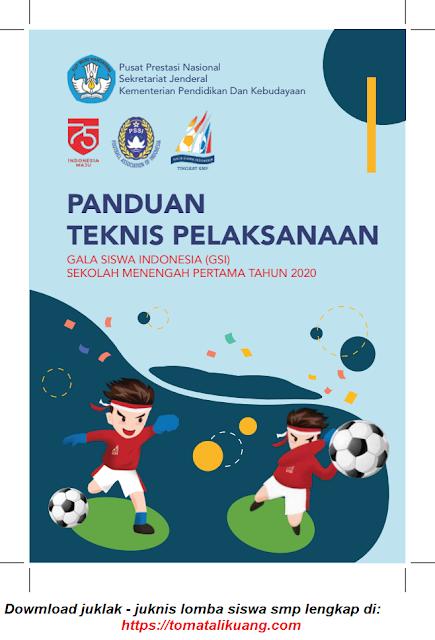 juklak juknis panduan teknis pelaksanaan gsi smp tahun 2020 pdf tomatalikuang.com