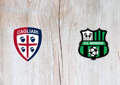 Cagliari vs Sassuolo -Highlights 18 July 2020