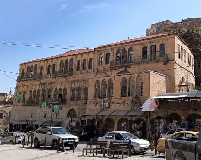 casa del mercante Abu Jaber nel centro di salt