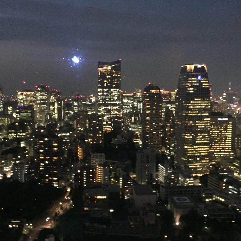 View dr atas Tokyo Tower