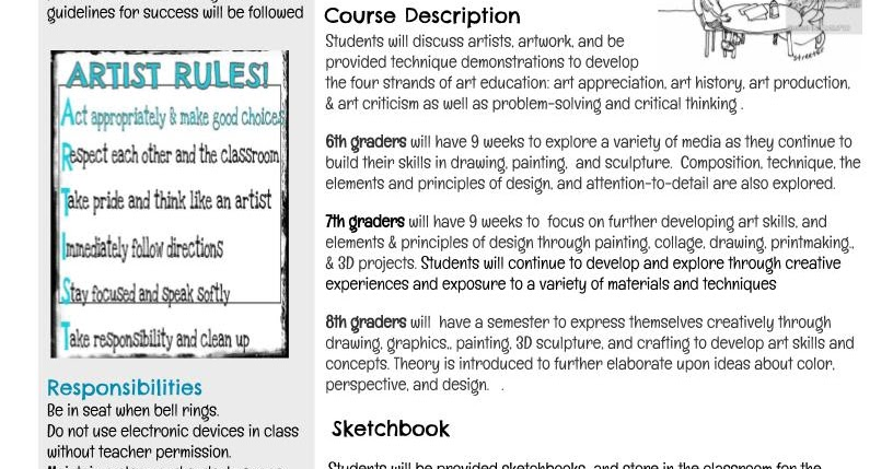 Studio 104 Art Syllabus