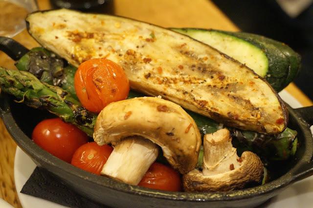 bowl of roasted vegetables