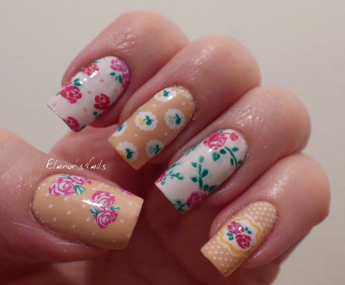 Elanor\'s Nails: Reverse Stamping Decals